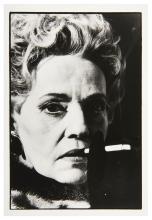 Peter KNAPP Né en 1931 Jeanne Moreau - vers 1985