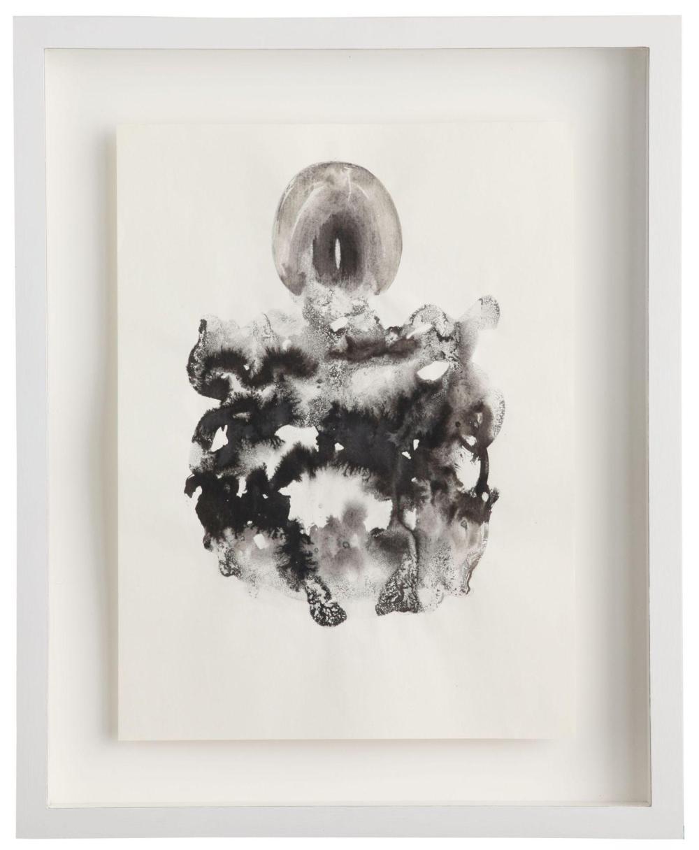 Marc Couturier (né en 1946) Bouquet, 2011 Encre de Chine sur papier