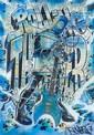 REVOLT () ROLLING THUNDER, 2011 Peinture aérosol et marqueur sur plan de métro de New York (MTA)