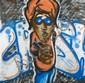 CRASH (John Crash Matos dit) (né en 1961) SANS TITRE, 1982 Peinture aérosol sur toile