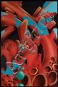 SEEN (Richard Mirando dit) (né en 1961) PSY, 2009 Peinture aérosol sur toile