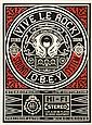 Shepard Fairey OBEY GIANT  Vive le Rock, 2012