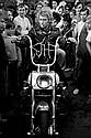 ROGER PICARD  Johnny Hallyday sur Harley Davidson, Deauville, 1968