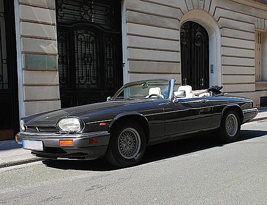 JAGUAR XJS HE V12 Cabriolet - 1989 #SAJJNADW40DM163663 Couleur gris anthracite métal, sellerie en cuir magnolia à passepoils ...