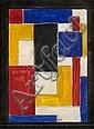 Vilmos HUSZAR (1884 - 1960) ETUDE POUR UN VITRAIL, circa 1931 Encre, aquarelle et gouache sur papier, Vilmos Huszar, Click for value