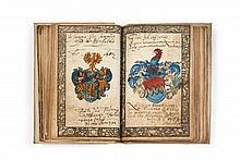 [MANUSCRIT]  Liber Amicorum bâlois du XVIe siècle