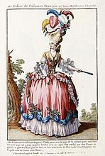 [MODE]  Galerie des modes et costumes français dessinés d'après nature