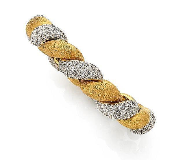 Bracelet semi-rigide