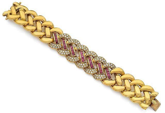 Bracelet souple large