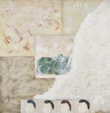 Louis BOUDREAULT (Né en 1956) Souvenir d'hiver, 1993 Technique mixte sur toile,