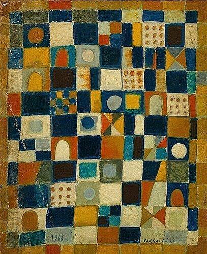 Manuel CARGALEIRO (Né en 1927) COMPOSITION, 1968