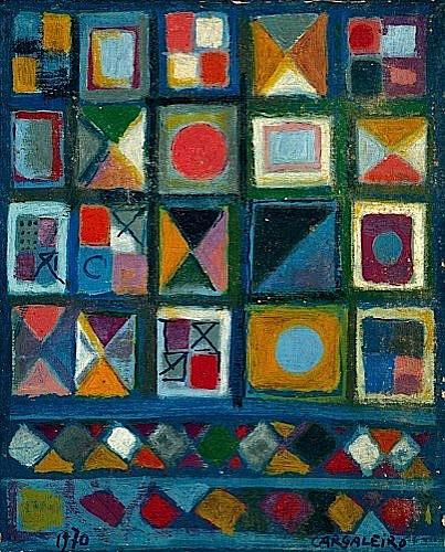 Manuel CARGALEIRO (Né en 1927) COMPOSITION, 1970