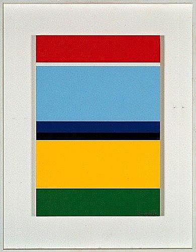 Jean LEGROS (1917-1981) VARIATION SUR LA PLAINE DE BEAUCE, 1976 Acrylique et collage sur panneau