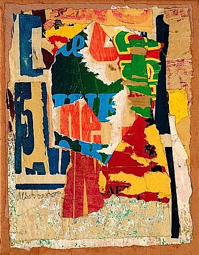Arthur AESCHBACHER (Né en 1923) L'HERBIER-BARBIER, 1964