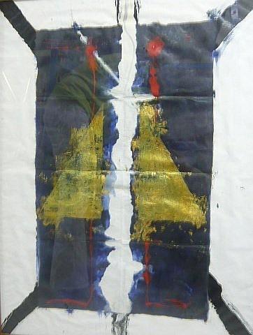 Luciano BARTOLINI (1948-1994) COMPOSITION, 1981 Technique mixte sur papier kraft
