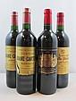 4 bouteilles 1 bt : CHÂTEAU LEOVILLE POYFERRE 1995 2è GC Saint Julien
