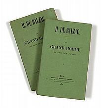 Honoré de BALZAC  Un grand homme de province à Paris