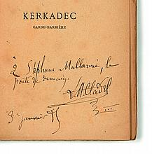 [Stéphane MALLARME] Léon CLADEL  Kerkadec garde-barrière