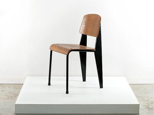 Jean prouve 1901 1984 chaise mod m tropole 305 dite sta - Chaise jean prouve prix ...