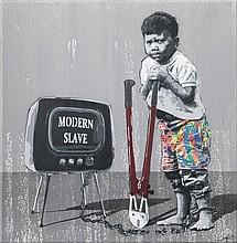 KURAR (né en 1983) MODERN SLAVE - 2015
