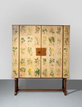 Josef FRANK 1885 - 1967 Cabinet mod. 852 dit «Flora » - Création 1937