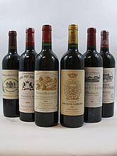 6 bouteilles 1 bt : CHÂTEAU BEAUSEJOUR DUFFAU LAGARROSSE 2000 1er GCC (B) Saint Emilion