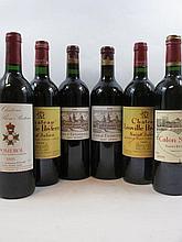 6 bouteilles 1 bt : CHÂTEAU COS D''ESTOURNEL 2009 2è GC Saint Julien