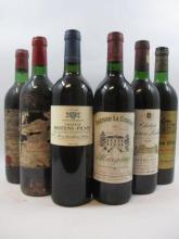 11 bouteilles  1 bt : CHÂTEAU LA GURGUE 1990 Margaux (étiquette abimée) 1 bt : CHÂTEAU PRIEURE LICHINE  1989 4è GCMargaux (base go...