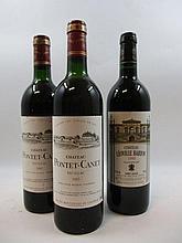 3 bouteilles 1 bt : CHÂTEAU LEOVILLE BARTON 1995 2è GC Saint Julien