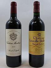 2 bouteilles 1 bt : CHÂTEAU MONTROSE 2008 2è GC Saint Estèphe
