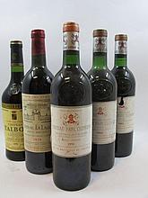 5 bouteilles 1 bt : CHÂTEAU TALBOT 1978 4è GC Saint Julien