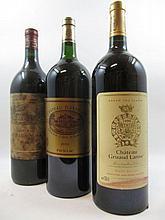 3 magnums 1 mag : CHÂTEAU GRUAUD LAROSE 1999 2è GC Saint Julien (étiquette tachée)