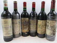12 bouteilles 2 bts : CHÂTEAU CARBONNIEUX 1988 CC Pessac Leognan (étiquettes très abimées)