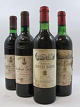 4 bouteilles 2 bts : CHÂTEAU GISCOURS 1976 3è GC Margaux (étiquettes très tachées par l''humidité)