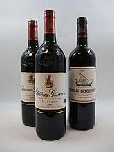 3 bouteilles 2 bts : CHÂTEAU GISCOURS 2009 3è GC Margaux