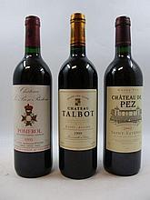 6 bouteilles 2 bts : CHÂTEAU TALBOT 1999 5è GC Saint Julien