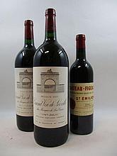 3 flacons 2 mags : CHÂTEAU LEOVILLE LAS CASES 2000 2è GC Saint Julien
