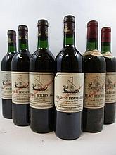 5 bouteilles 3 bts : CHÂTEAU BEYCHEVELLE 1990 3è GC Saint Julien (base goulot, étiquettes léger tachées)