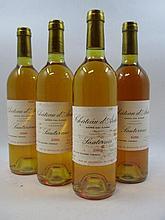 12 bouteilles CHÂTEAU D''ARCHE 1988 2è cru Sauternes (étiquettes tachées par l''humidité) Caisse bois d''origine (Cave 11)