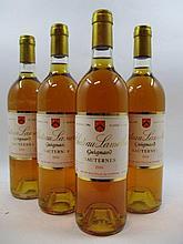 12 bouteilles CHÂTEAU LAMOTHE GUIGNARD 1988 2è cru Sauternes Caisse bois d''origine  (Cave 11)