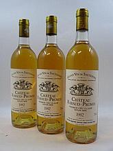 9 bouteilles CHÂTEAU RABAUD PROMIS 1982 1er cru Sauternes (base goulot