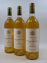 12 bouteilles CHÂTEAU RAYNE VIGNEAU 1986 1er cru Sauternes (étiquettes fanées