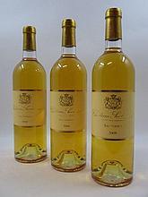 6 bouteilles CHÂTEAU SUDUIRAUT 2008 1er cru Sauternes (base goulot) (Cave 12)