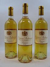 6 bouteilles CHÂTEAU SUDUIRAUT 2009 1er cru Sauternes  (Cave 12)