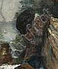 Adolphe-Félix Cals Paris, 1810 - Honfleur, 1880 Le vieux marin Huile sur toile, Adolphe-Felix Cals, Click for value