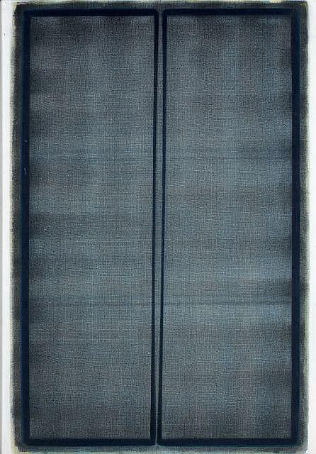 Lothar QUINTE (1923 - 2000) COMPOSITION, 1964 Huile sur toile