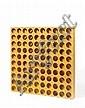 Paolo SCHEGGI (1940-1971) INTERSUPERFICIE CURVA-ena, circa 1967 Ensemble de cartons jaune découpés et pliés emboîtés dans boîte en p..., Paolo Scheggi, Click for value