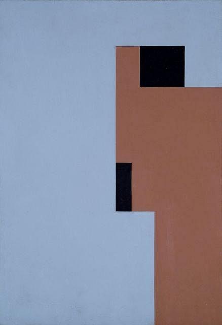 André Gaston HEURTAUX (1898 - 1983) SANS TITRE, N°69, 1934-52 Laque sur toile