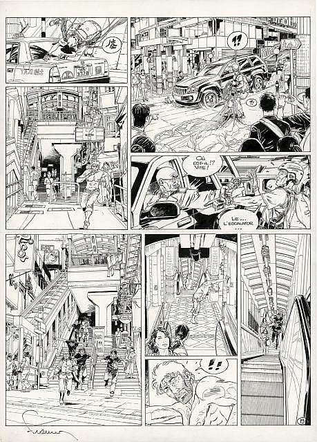 Philippe FRANCQ Né en 1961 Largo Winch - Tome 16