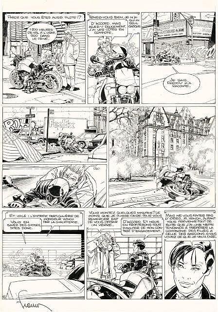 Philippe FRANCQ Né en 1961 Largo Winch - Tome 13